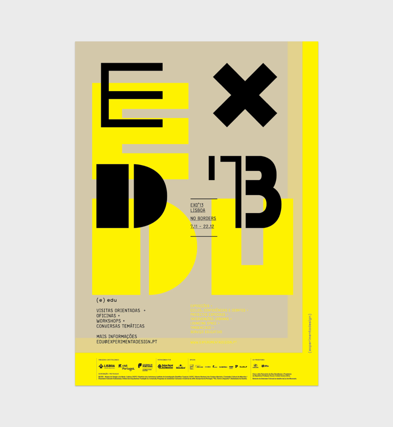 EXD'13 ⟐ Education service poster